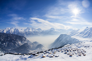 Flying high, Belalp - Blatten - Naters photo