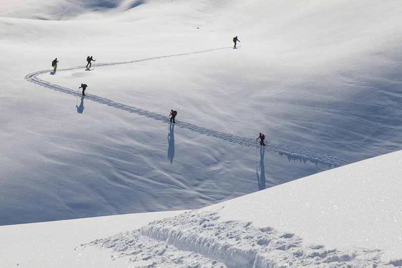 The only way is up, St. Anton