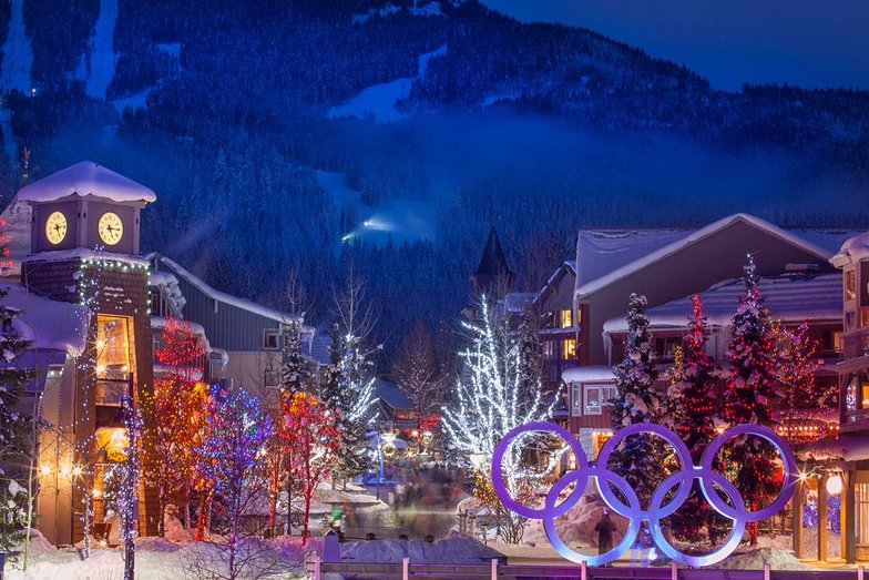 Night time in the village, Whistler Blackcomb
