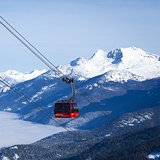 Whistler lifts, Canada - BC