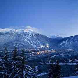 Dual Mountain Panorama, Whistler Blackcomb