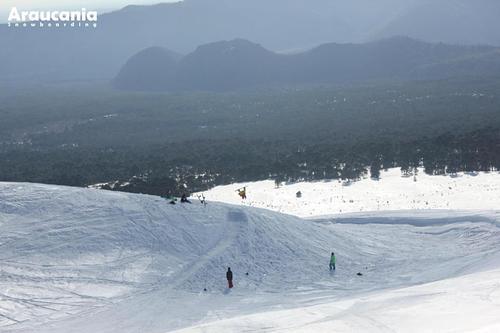 Las Araucarias Ski Resort by: Tomas Cienfuegos