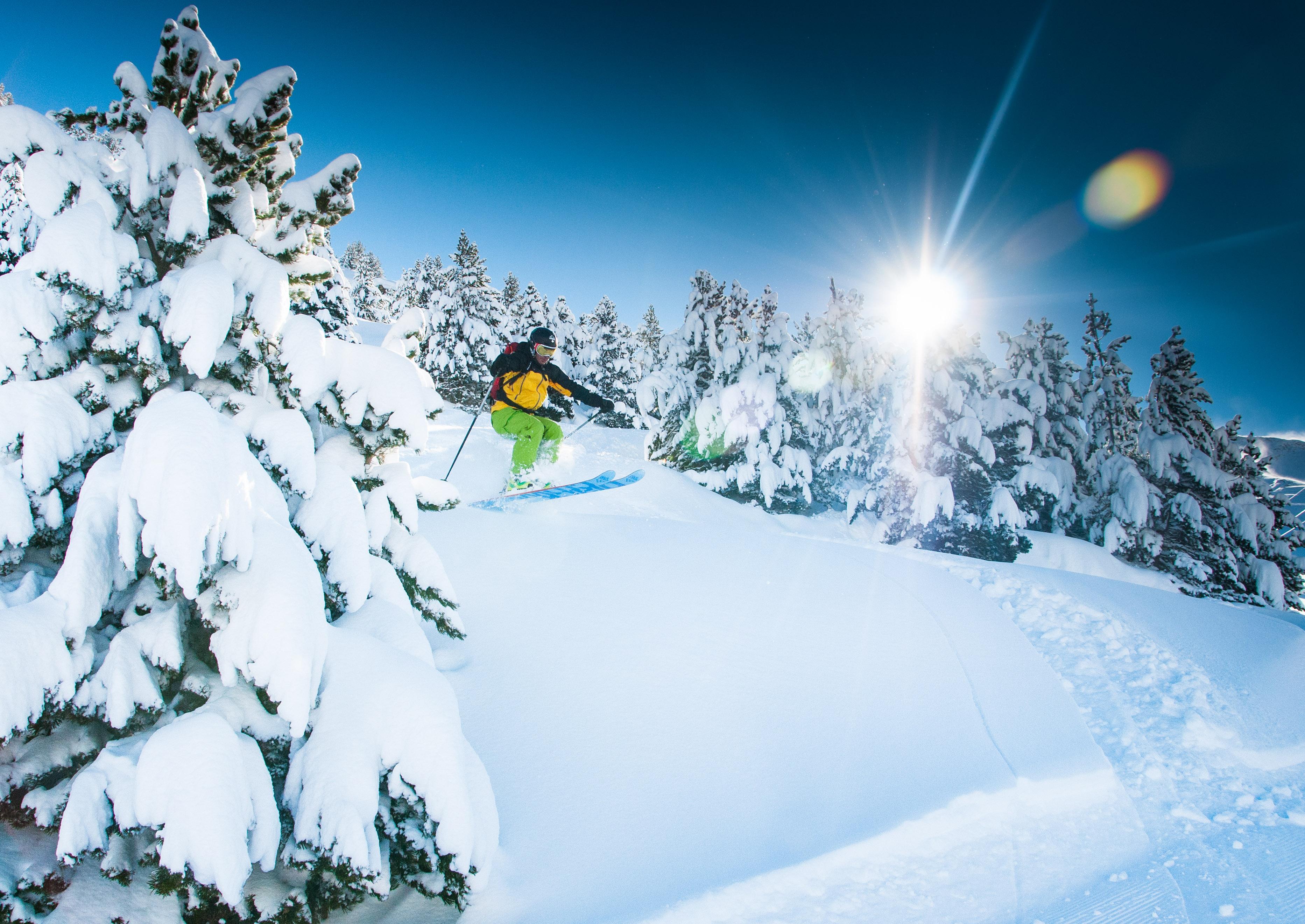 Skiing at Cerler