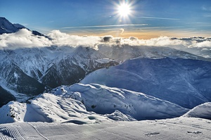 Winter in Chamonix photo