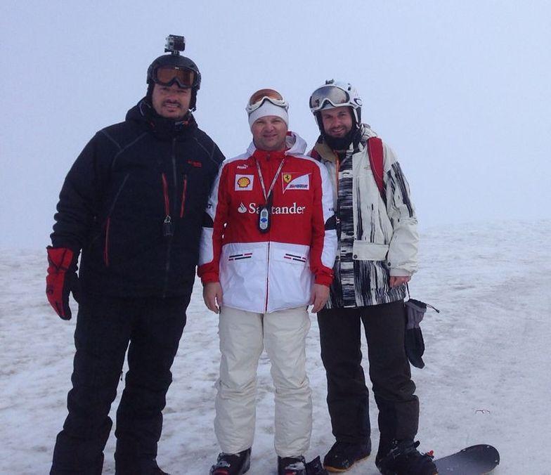 TRIO MÉDICO, Nevados de Chillan