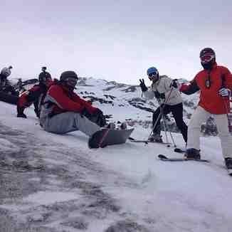 PAUSA EM TRES MARIAS, Nevados de Chillan