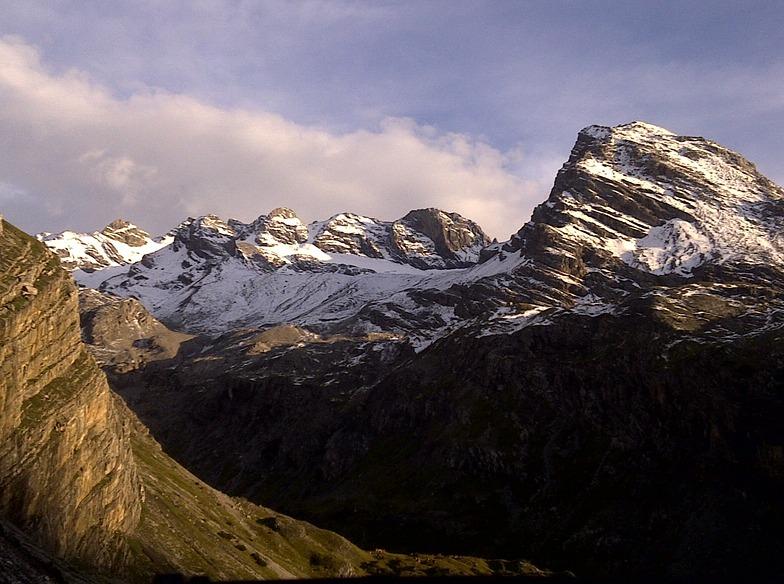 Passo Dello Stelvio Stilfserjoch snow