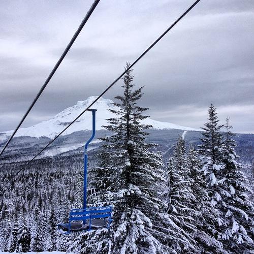 Mt Hood Ski Bowl Ski Resort by: Christopher Schriner