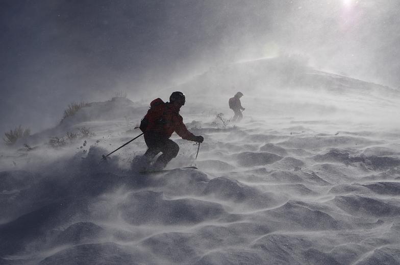 moon skiing, Las Leñas