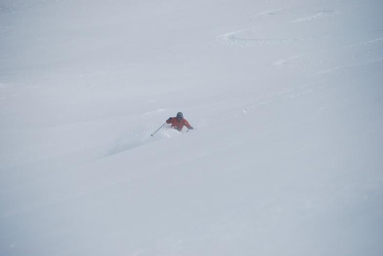 dia de nieve, Las Leñas