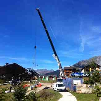New Lift Base, Sainte Foy