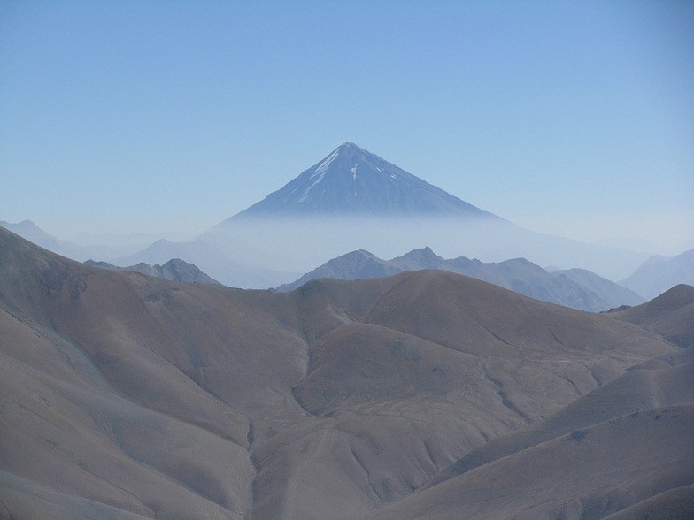 Damavand from Koloon Bastak peak, Mount Damavand