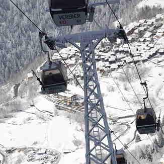 Ski lift, Verbier