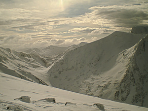 Back of Ben Nevis, Nevis Range photo