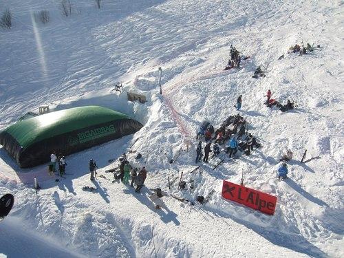 Saint-Sorlin d'Arves (Les Sybelles) Ski Resort by: xavier sambuis