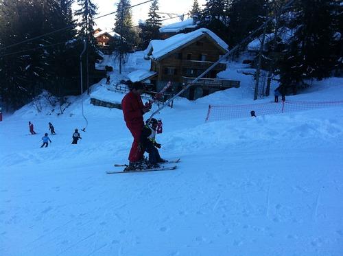 La Tania Ski Resort by: Ben Hall