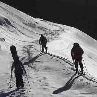 Ski randonnèe, El Fraile