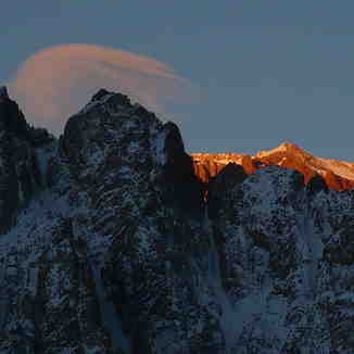 Penitentes Peak, Los Penitentes