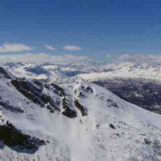 Ski runs of Sestriere, Sestrière (Via Lattea)