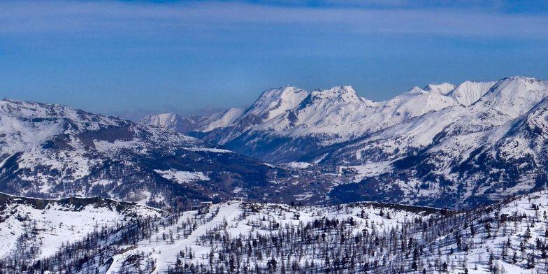 Ski runs of Sestriere, Sestrière (Via Lattea)