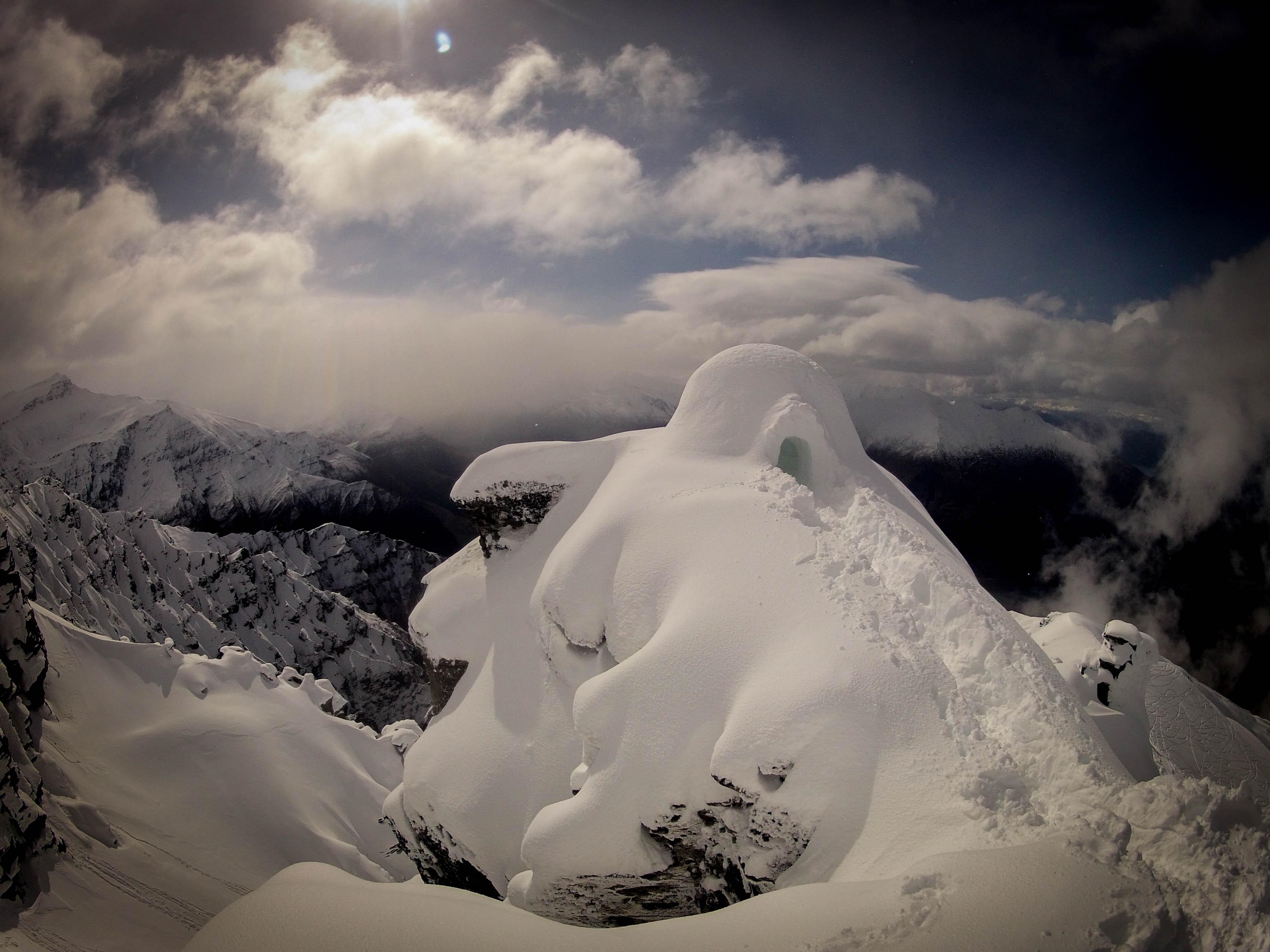 Igloo Over Mount Aspiring, Treble Cone