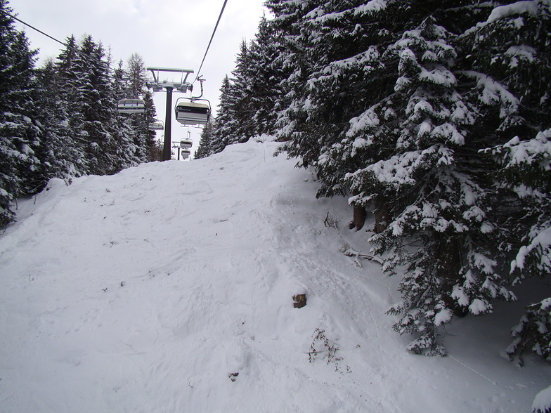 Ski-lift view, Grossarl-Dorfgastein