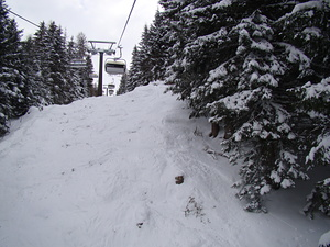Ski-lift view, Grossarl-Dorfgastein photo