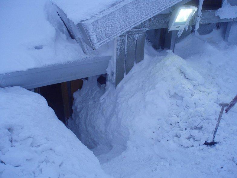 Snowed in, Cairngorm
