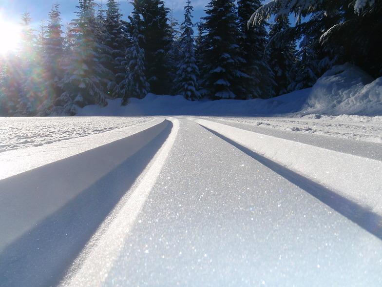 Morning Perfection, Ski Callaghan