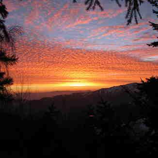 Farellones, Chile July 2013 Sunset