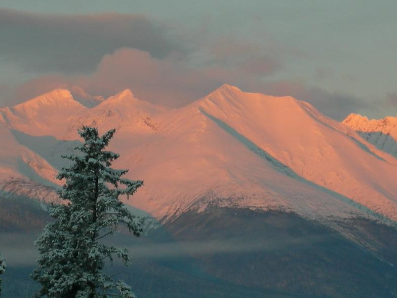 Winter Sunrise, Hudson Bay Mountain