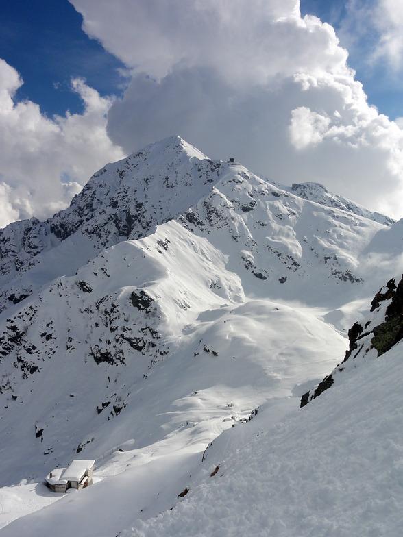 Oropa snow