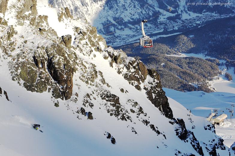 Corviglia-Marguns snow