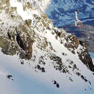 Piz Nair with Lucas Swieykowski/ St.Moritz, Corviglia-Marguns