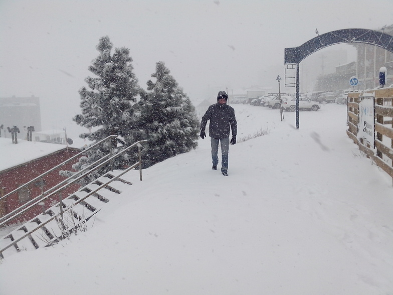 Muita neve!, El Colorado