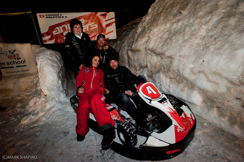 9 x World Rally Champion Ice Karting In Verbier