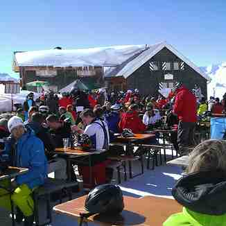Lunch up top, St. Anton