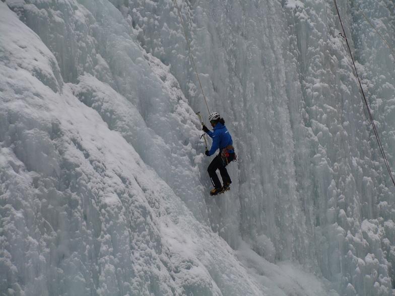 risalire il ghiaccio, Malga-Ciapela/Marmolada