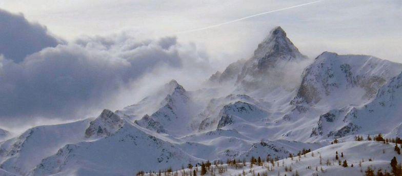 Claviere (Via Lattea) snow
