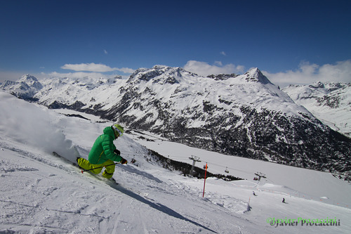 Corvatsch-Furtschellas Ski Resort by: Javier Procaccini