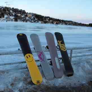 Bataleons @ Super Besse, our boards aint flat., Besse Super Besse