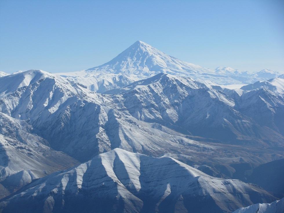 Damavand from Tochal, Mount Damavand