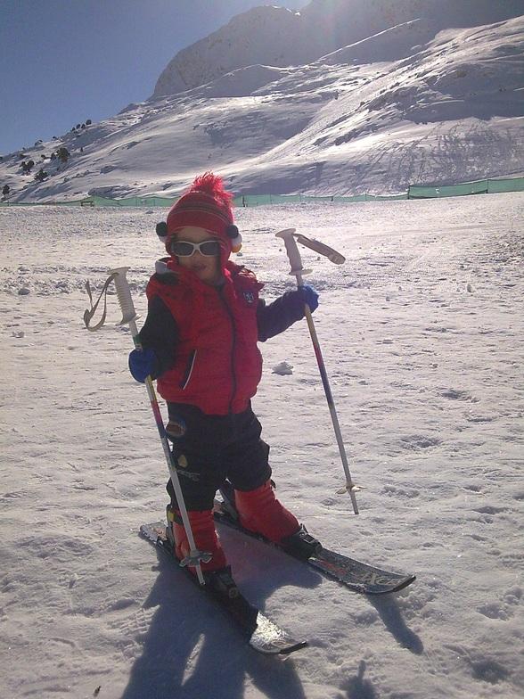 minik kayakçi, Saklıkent