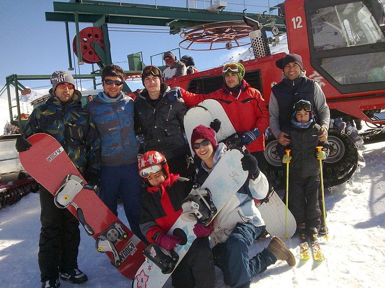 kayak tutkunu bir genç gurubu.., Saklıkent