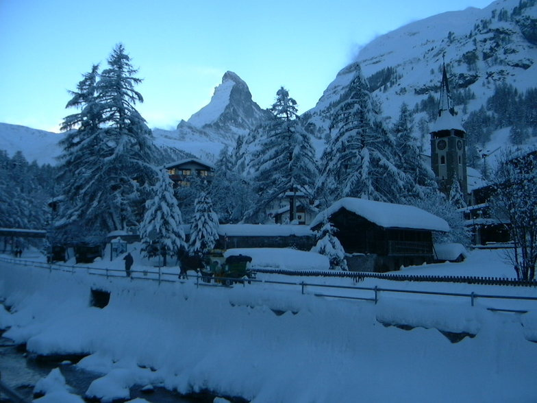 Dusk in Zermatt