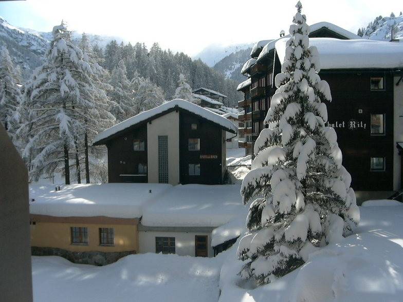 Zermatt after the blizzard