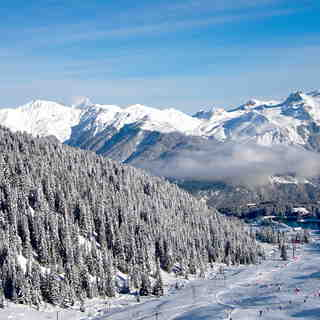 November Skiing, Courchevel