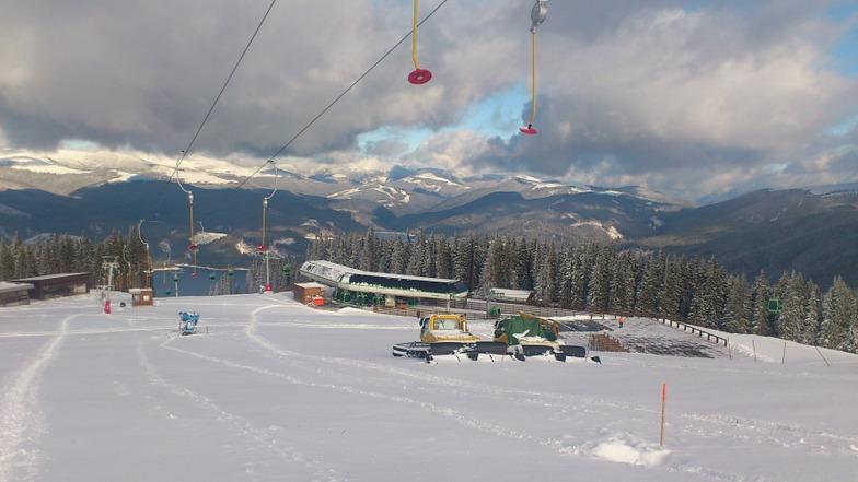 Vidra Transalpina snow