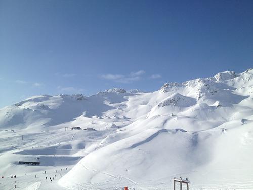 Bad Gastein Ski Resort by: manuel antonio prieto alonso