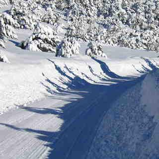 Route de GLN, Greolieres Les Neiges